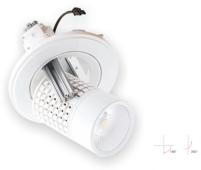 LED - Downlight Model MF für Deckeneinbau