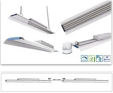 LED - Line Multiple Angle, IP40